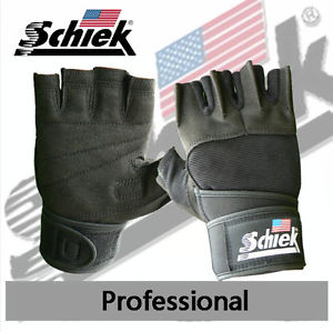 Schiek Gel Lifting Gloves with Wrist Wraps 540