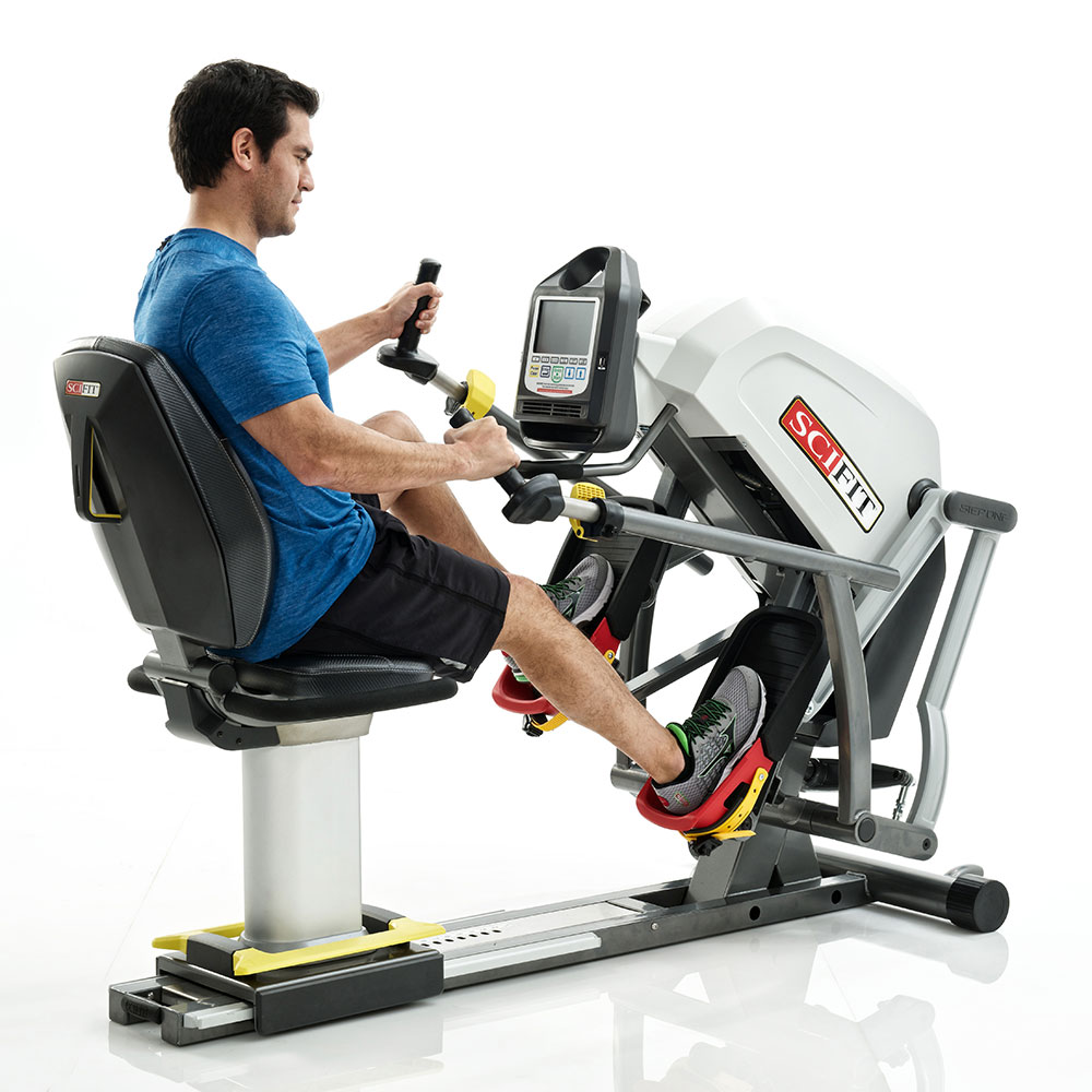 Home Exercise Equipment Stepper: SciFit StepOne Recumbent Stepper Standard