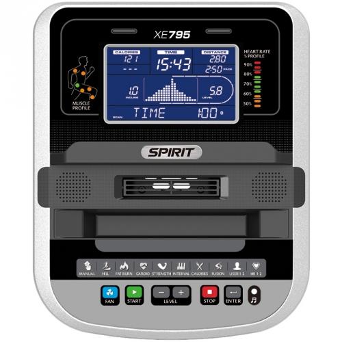 Spirit Elliptical Trainer XE795