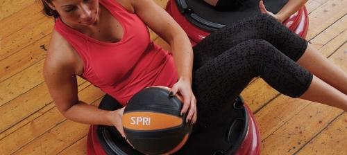 SPRI Xerball Medicine Ball 8lb
