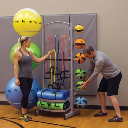 Prism Fitness Deluxe Storage Tower