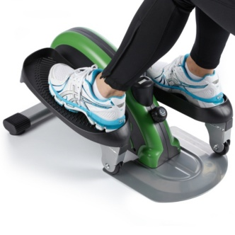 Ordinaire The Stamina InMotion Elliptical Trainer Orange 55 1603 Is Compact And  Lightweight Enough To Use At Home Or At The Office, And Stores Easily Under  A Desk Or ...