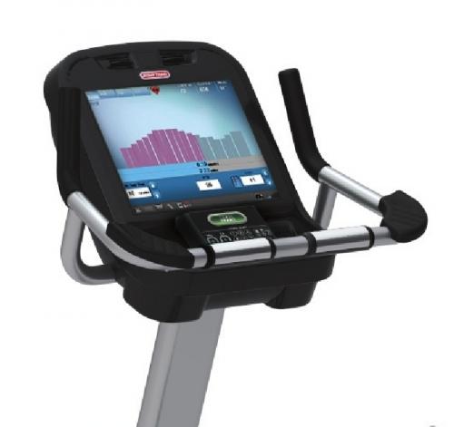 Star Trac E-UBe Upright Bike with Embedded Screen