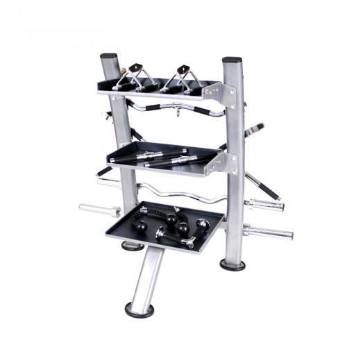 TKO Accessory Rack, Silver Metallic
