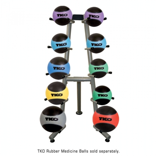 TKO Commercial Medicine Ball Rack