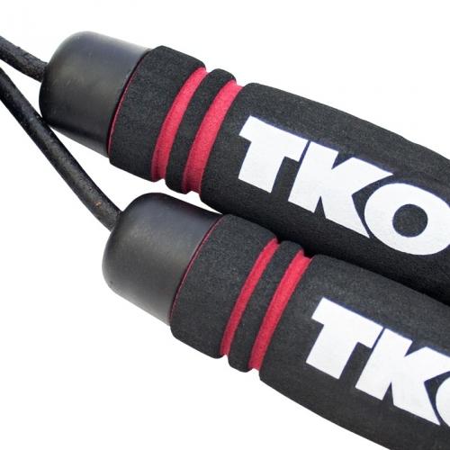 TKO Pro Line Leather Rope (Black)