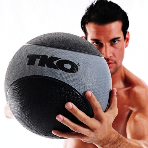 TKO Rubberized Medicine Ball 15lb