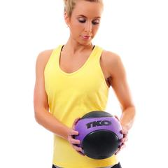TKO Rubberized Medicine Ball 2 lb.