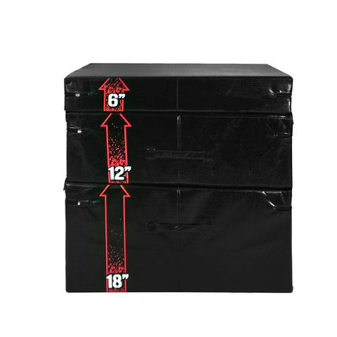 TKO Stackable Foam Plyo Box Set