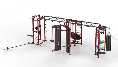 TKO Stretching Boxing Rebounder Power Rack Station 9901GB