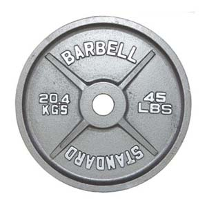 Troy Barbell Olympic 300lb Weight Set OSS-300