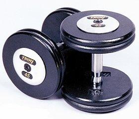 Troy Pro Style Black Dumbbells 5-50lb Set PFD-C