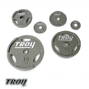 Troy Interlocking Grip Olympic Plates GO-400