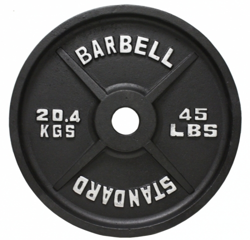 Troy USA Olympic 500lb Weight Set BOSS-500