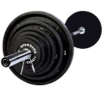 Troy Olympic 500lb Weight Set BOSS-500