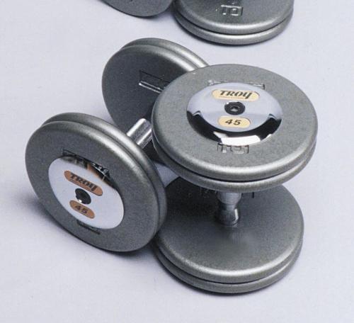 Troy Iron Pro-Style Hammertone Dumbbell Set 105-150 HFD-C