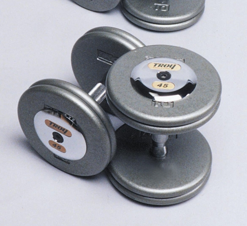 Troy Iron Pro-Style Hammertone Dumbbell Set 5-150 HFD-C