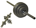 Troy Regular 110lb Threaded Weight Set (B) RSS-110T