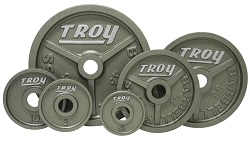 Troy Wide Flanged Gray Olympic Plate Set HO-300