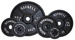 USA Olympic Weight Plate Set Black BO-355