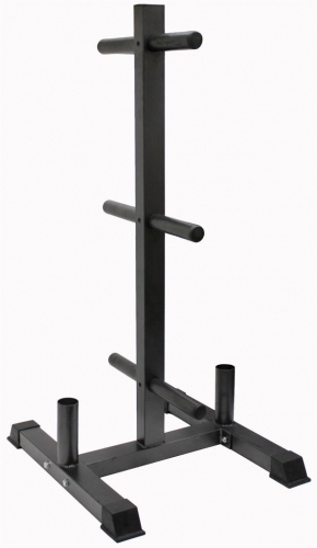 Troy GOPT Vertical Olympic Bumper Plate and Bar Rack