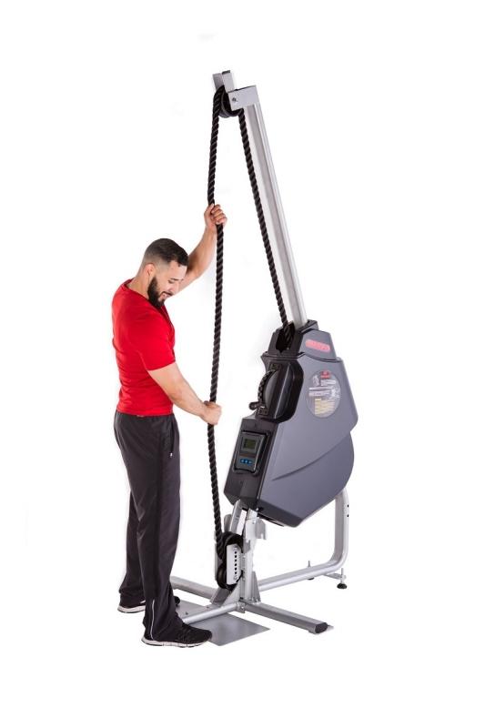 rope pulling exercise machine