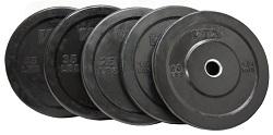 VTX Solid Rubber Bumper Plates VO-SBP-350