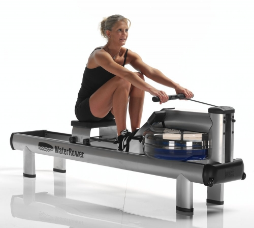 WaterRower M1 HiRise Rower with S4 Monitor