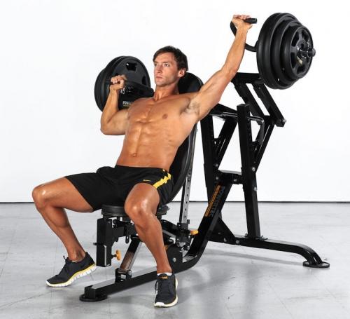 Powertec workbench multi press w isolatoral arm wb mp13 fitnesszone Leverage bench press
