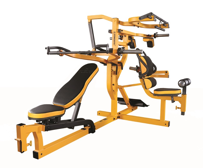 Powertec fitness home gyms strength equipment
