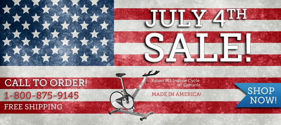 4th 0f July Sale - Keiser M3i Exercise Bike On Sale